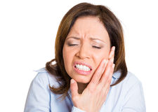Tooth ache Royalty Free Stock Image