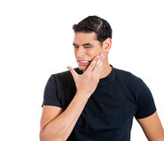 Tooth ache Royalty Free Stock Photography