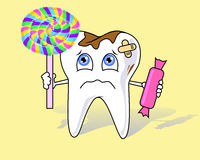 Tooth aching Stock Photo