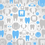 Tooth a background Stock Images