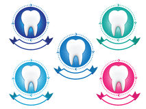 Tooth banner set Royalty Free Stock Photo