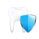 Tooth With Board Stock Image