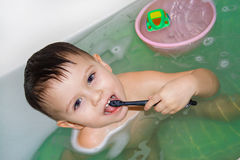 Tooth-brush Stock Photo