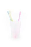 Tooth-brush Fotografie Stock