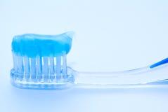 Tooth-brush Royalty-vrije Stock Afbeeldingen
