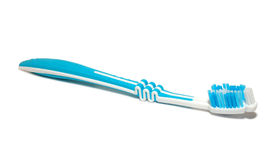 Tooth-brush. Isolated on the white background Stock Photos