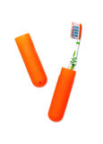 Tooth brush and case Stock Images