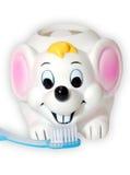 Tooth-brush e rato imagens de stock royalty free