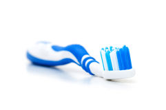 Tooth brush isolated on the white Royalty Free Stock Photography