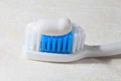 Tooth-brush and paste. Royalty Free Stock Photos