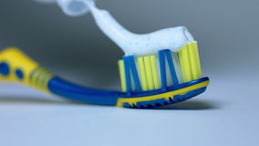 Tooth brush stock video footage