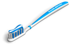 Tooth brush with toothpaste Stock Photography