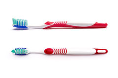 Tooth brush. On a white background Royalty Free Stock Image