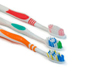 Tooth-brushes Royalty-vrije Stock Foto
