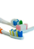 Tooth-brushes Imagens de Stock Royalty Free