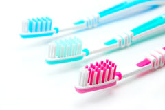 Tooth-brushes Royalty Free Stock Photo