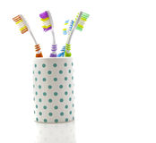 Tooth Brushes Stock Photography
