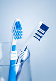 Tooth brushes Royalty Free Stock Images