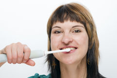 Tooth brushing Royalty Free Stock Photo