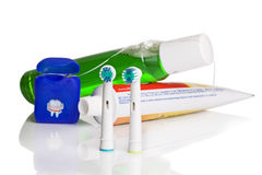 Tooth care Royalty Free Stock Photo