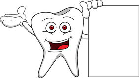 Tooth cartoon Royalty Free Stock Photography