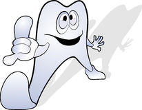 Tooth cartoon Royalty Free Stock Images