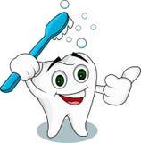 Tooth cartoon character Stock Photo