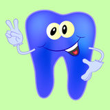 Tooth character. Cartoon illustration Stock Photo