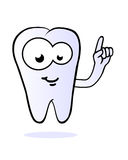 Tooth comic character vector Stock Images