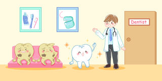 Tooth decay problem Stock Photography