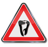 Tooth and dentist Stock Photography