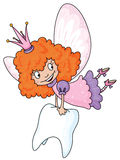 Tooth fairy. Illustration of a tooth fairy vector illustration