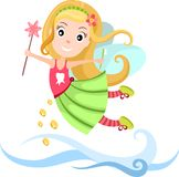 Tooth Fairy. Vector illustration of a Tooth Fairy Royalty Free Stock Photos