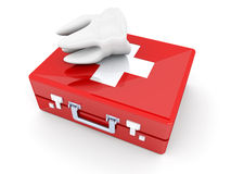 Tooth First aid Stock Images