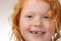 Tooth gap royalty free stock images