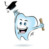 Tooth Graduation Royalty Free Stock Images