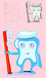 Tooth-health-clean Stock Images
