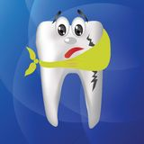 Tooth hurts Royalty Free Stock Photos