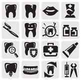 Tooth icon Royalty Free Stock Images