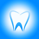 Tooth Icon Represents Dentist Icons And Root Royalty Free Stock Image