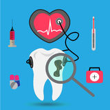 Tooth icon. Tooth . Royalty Free Stock Photo