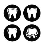 Tooth icon Stock Photo