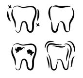 Tooth icon Stock Image