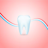 Tooth illustration Royalty Free Stock Photography