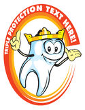 Tooth king Royalty Free Stock Photography