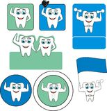 Tooth logo Stock Image