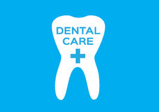Tooth logo and tooth icon  . dental care Royalty Free Stock Image