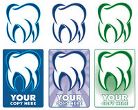 Tooth logo Stock Images