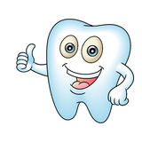 Tooth mascot Royalty Free Stock Photo