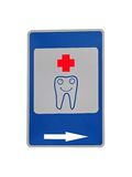 Tooth medical cure concept isolated, smile, Stock Photography